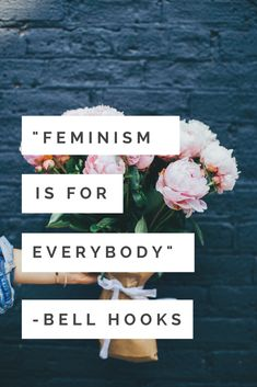 Get more amazing female inspiration on our site. An inspiring feminist quote to motivate us to keep on fighting