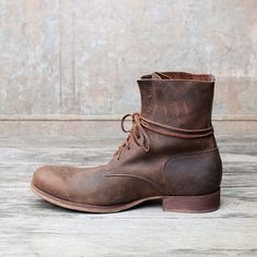 """Peter Nappi, """"Julius"""" """"Wearing a Peter Nappi is like wearing an old book: it has personal value interpreted by what we think. It is not a product for fashion, but a product born from experiences of life that matures from emotions that are translated then into a shoe."""""""
