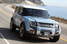 my someday dream car...Land Rover DC100 'Defender' concept on the road