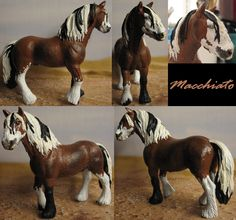 I love how this one turned out! Repainted schleich tinker stallion