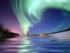 Alaska Northern Lights Viewing Tours, Aurora Tours Fairbanks Anchorage - We've seen the Northern Lights in the Blue Ridge Parkway of all places. But I dream of a trip to Alaska and long nights with ice and snow.