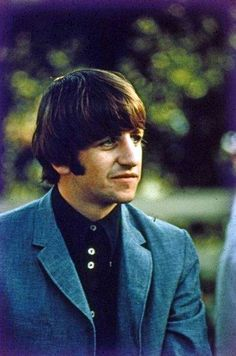 The great Ringo, his drumming goes largely underrated, but just listen to the Abbey Road album...some of the best rock drumming laid down...ever!