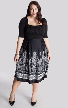 Plus size clothing for full figured women. We carry young and trendy, figure flattering clothes for plus size fashion forward women. Curvalicious Clothes has the latest styles in plus sizes Curvy Fashion, Plus Size Fashion, Womens Fashion, Plus Size Dresses, Plus Size Outfits, Moda Feminina Plus Size, Designer Plus Size Clothing, Elegant Dresses, Ivory Dresses