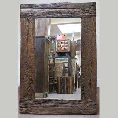 indian furniture mirror rustic frame teak old wood House Furniture, Living Room Furniture, Log Decor, Indian Furniture, Wood Framed Mirror, Rustic Frames, Bathroom Mirrors, Old Wood, Upcycled Furniture