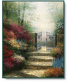 The Garden of Promise ~ Thomas Kinkade