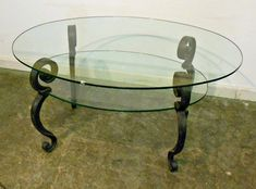 Vintage Glass top Coffee Table - Luxury Modern Furniture Check more at http://www.nikkitsfun.com/vintage-glass-top-coffee-table/