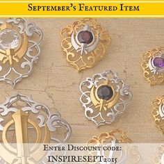 This September is National Yoga Month and to celebrate The Khalsa Raj Collection is offering 10% off of our *NEW* Filigree Adi Shakti Shields! This powerful new design offers protection, guidance, courage, empowerment and strength. It also comes in a variety of sizes and gemstone choices.  Just enter the code: INSPIRESEPT2015 in at check out to receive your discount!