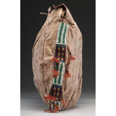 Cheyenne tipi bag, side view