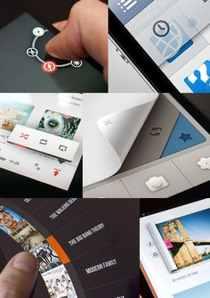 Creative Web, Design, Ui, Designs, and Elements image ideas & inspiration on Designspiration Interaktives Design, News Web Design, App Ui Design, User Interface Design, Design Layouts, Flat Design, Graphic Design, Apps, Conception D'interface