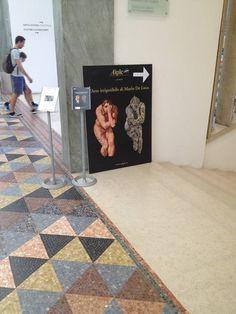 Ingresso esposizione Mario De Luca - #Triennale di #Milano