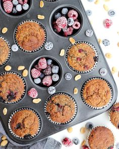 Gyümis muffin 11db Muffin, Breakfast, Food, Morning Coffee, Eten, Cupcakes, Muffins, Meals, Morning Breakfast