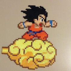 Hama Beads Dragon Ball Goku Pequeño