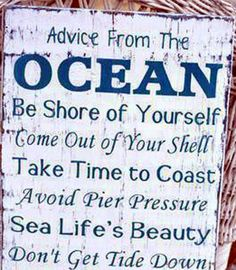 Advise from Rehoboth Beach, Delaware