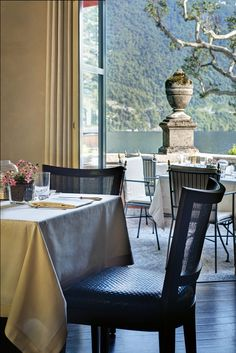 Villa d'Este, Lake Como - the delicacy Time