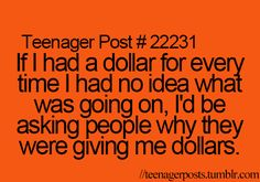 I would be a millionaire by the end of the day