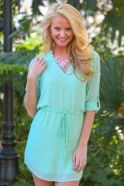Shades Of You Tunic-Mint