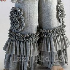 Pixie Girl Grey Peony Pants ~ Ordered these <3
