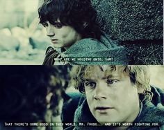 And Gollum thinks to himself
