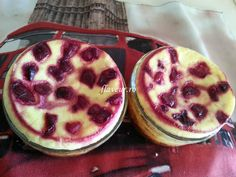 BRANZOAICE CU VISINE Baby Food Recipes, Watermelon, Deserts, Muffin, Food And Drink, Fruit, Breakfast, Puddings, Recipes For Baby Food