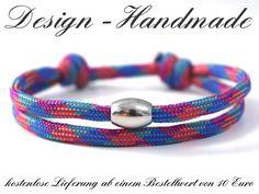 Armbänder - Surferarmband BUNT Surfer Armband  - ein Designerstück von Design-Handmade bei DaWanda