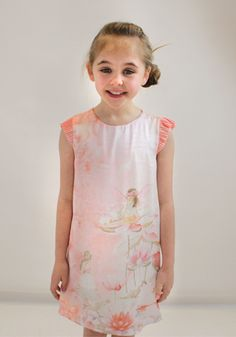 Ava wears pink silk Mayoral dress from Designerchildrens... #mayoral #designerkids #designerclothes #luxurykids #kidsclothes #girlsclothes #silk #dress #kidsblog #kidsfashion  #modelkids