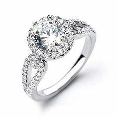 anel de noivado...