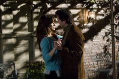 Still of Sandra Bullock and Keanu Reeves in La casa del lago