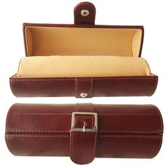 Jewelry Box Genuine Leather Travel Organizer Case Rings Earrings