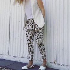 The cone back pants only 2 left small and medium #mixandco #dropcrutch #leopard #love #easy #shop3280 #shoplocal by mixandcoclothing