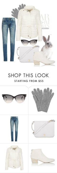 """""""Untitled #2504"""" by gordana-danilov ❤ liked on Polyvore featuring Tom Ford, L.K.Bennett, Yves Saint Laurent, Furla and Marsèll"""
