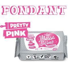 Pinker Fondant - Ideal zur Dekoration von Torten mit Prinzessinen-Motiv. #Fondant