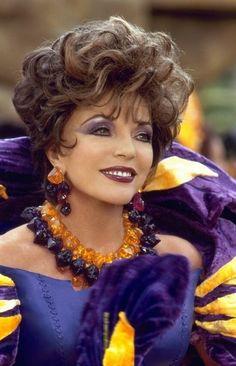 Joan Collins appears as Pearl Slaghoople, Wilma's mother