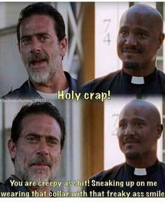 My favorite part... never thought I'd like Father Gabriel.