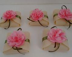 Embalagem para bem casado com flor                                                                                                                                                                                 Mais