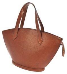 99dd6197c513 Louis Vuitton Epi Leather Saint Jacques Brown Tote Bag. Get one of the  hottest styles