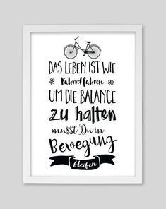 Lettering about life, lettering, ideas to type - Fahrrad Letter Board, True Religion, Jackets For Women, Art Prints, Motivation, The Originals, Etsy, Words, Quotes