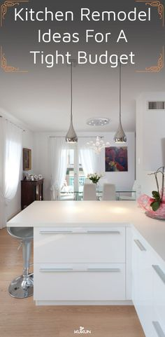 Below are the Kitchen Remodel Design Ideas On A Budget. This article about Kitchen Remodel Design Ideas On A Budget … Budget Kitchen Remodel, Kitchen On A Budget, New Kitchen, Kitchen Decor, Kitchen Ideas, Kitchen Designs, Hidden Kitchen, Smart Kitchen, Kitchen Units