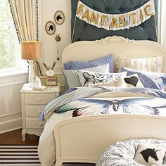 Lilac Bed #pbteen but I want something more like this for her room