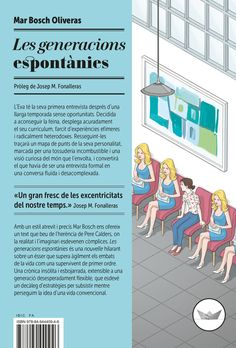 Les generacions espontànies / Mar Bosch Oliveras. Edicions del periscopi, 2016.