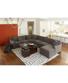 5 Favorite Living Rooms That Youu0027ll Love Too | Grey Sectional, Living Rooms  And Fur Part 60