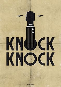 knock #design