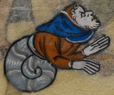Detail from medieval manuscript, British Library Stowe MS 17 'The Maastricht Hours', f193v