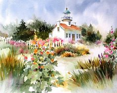 Brenda Swenson: Rearranging Elements, I really like her method for organizing thumbnail sketches Watercolor Architecture, Watercolor Landscape, Landscape Art, Landscape Paintings, Abstract Paintings, Landscapes, Watercolor Artwork, Watercolor Sketch, Watercolor Flowers