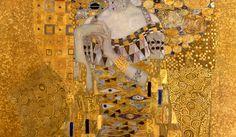 paintingispoetry:  Gustav Klimt, Portrait of Adele Bloch-Bauer detail, 1907