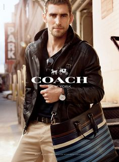 Another Photo of Will Chalker for Coach Spring/Summer 2014 Ad Campaign