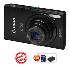 CANON IXUS 240 HS(Black) (16.1 MP HS CMOS, 5X Optical Zoom, 8.1cms LCD Screen Full HD. ) https://www.magickart.com/https://www.magickart.com/