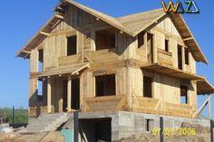"""Pret 100 EUR - Executăm  case  din lemn de brad , ,,la roșu"""" (fără finisări ), cu grosimea  pereților  exteriori   și  interiori de 12 cm, lemn  masiv. Prețul pentru  ace..."""