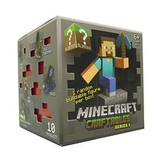 12/3/2016 -- Minecraft Craftables Blind Box Series 1. Only $5.99! :)