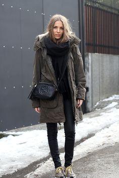 sneakers: adidas by Stella McCartney  pants:mango   sweater: h&m  jacket: c&a scarf: acne studios                                                                                              bag: gucci