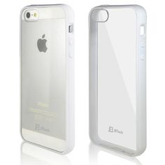 iPhone 5 Case, JETech® Apple iPhone 5/5S Case Bumper Shock-Absorption Bumper and Anti-Scratch Clear Back for iPhone 5/5S (White) JETech http://www.amazon.com/dp/B00GTY1OB0/ref=cm_sw_r_pi_dp_s3I9tb1X2WFK2